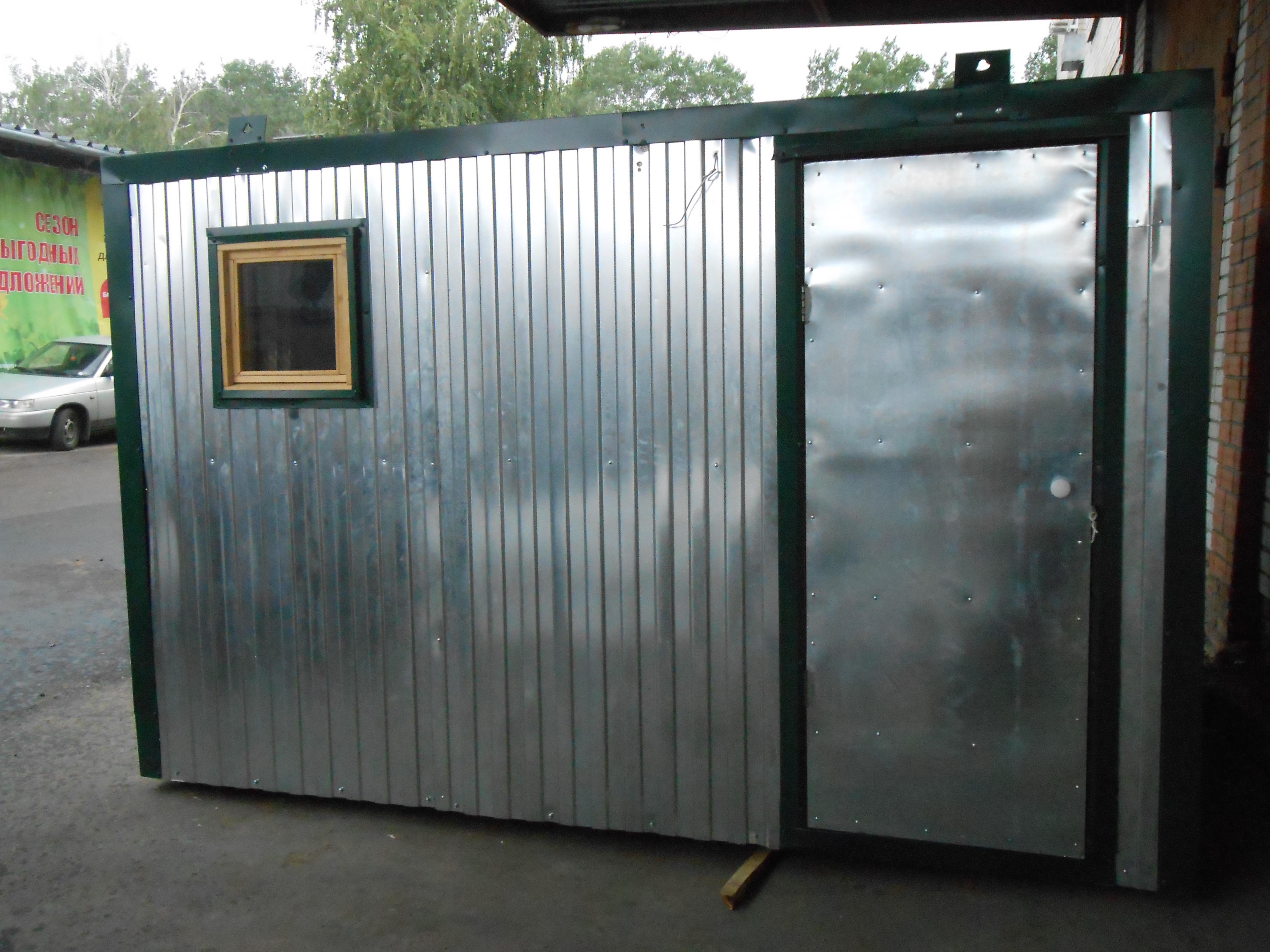 изготовление на заказ и установка бытовок дачных, строительных