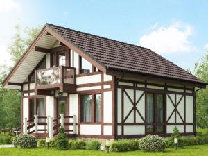 Дома в стиле фахверк