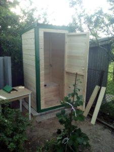 размещение дачного туалета на участке