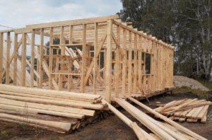 какие доски используются для строительства каркасных домов