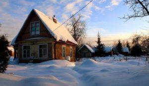как подготовить дачу к зимовке